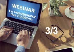 Webinar le management des émotions